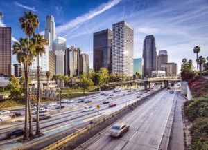 Downtown of Los Angeles, United States